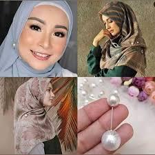Pengganti Jarum Pentul (Tuspin Mutiara) Lagi Populer Para Hijabers