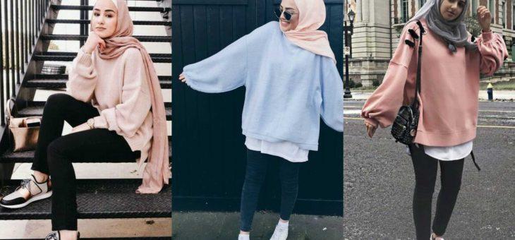 Hijab Street Style sudah jadi Tren hijaber Milenial