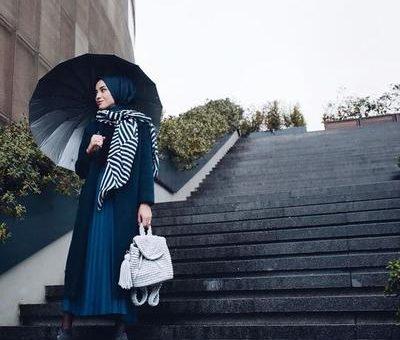 Musim Hujan Tiba 5 Tips Pilihan Busana Untuk Hijabers