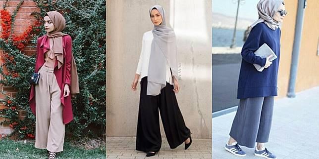 Beberapa Bahan Celana Kulot yang Tepat untuk Para Hijabers