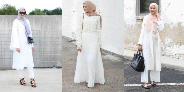 Warna Hijab Yang Cocok Di Mix and Match dengan Baju Putih