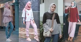 Macam Model Hijab Fashionable Cocok Untuk ke Kampus