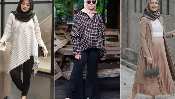 OOTD (Outfit of the day) Hijab Untuk Ibu Hamil Tetap Nyaman dan Stylis