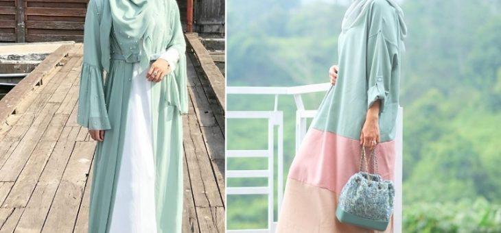 Inspirasi Outfit Hijab Warna Hijau Mint Versi Selebriti Anggun Sekali
