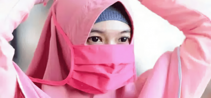 Masker Hijab Rekomendasi Khusus Hijaber Untuk Lindungi diri dari Virus dan Polusi