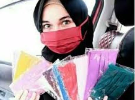 Inilah Alternatif Masker Hijab Saat Persediaan Masker Yang Langka