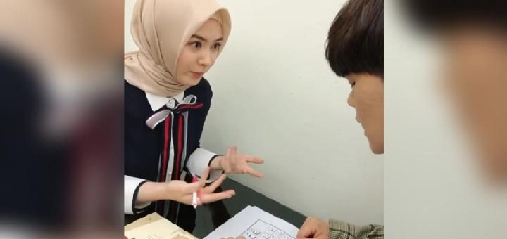 Ayana Jihye Moon Membuat Netizen Muslimah Indonesia Jadi Lebih Istiqomah