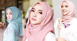 Inspirasi Model Gaya Hijab Untuk Kamu Yang Berpipi Chubby