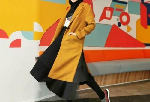 Model Gaya Hijab Keperluan Akhir Pekan, Fashionable dan Simple