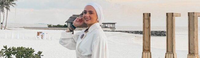 Rekomendasi fashion Hijab untuk Pergi ke Pantai
