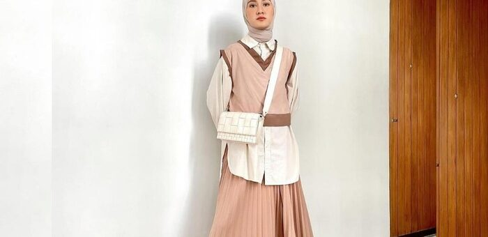 Rekomendasi Padu Padan Tampilan Fashion Hijab ala Korea untuk hangout