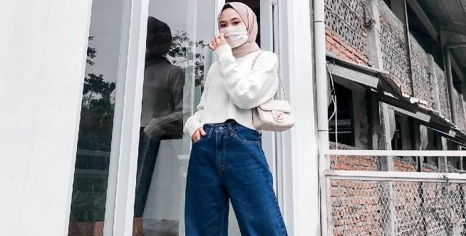 Mix and Match OOTD Hijab dengan Masker Selama Pandemi Corona