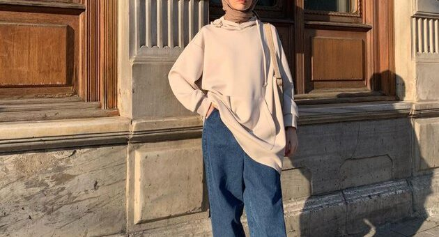 Ada 4 Tampilan Outfit Hijab dengan  Sepatu Boots