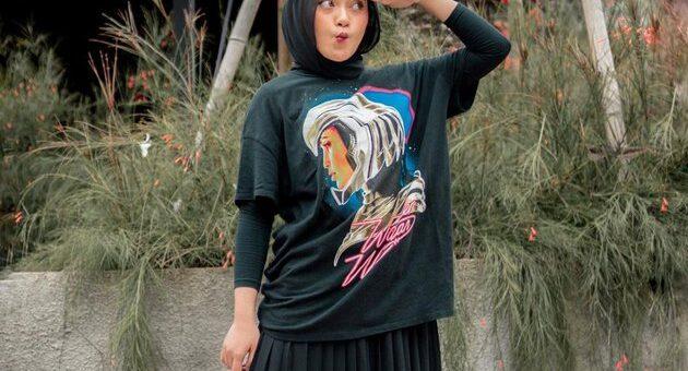 Rekomendasi hijab Fashion T-shirt Untuk Acara Santai