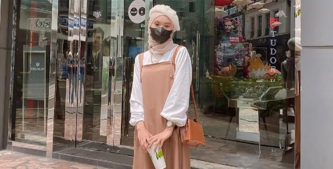 Rekomendasi dan Inspirasi OOTD Korean Look untuk Hijabers