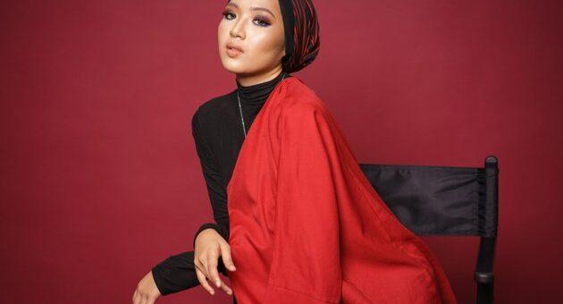 Tutorial Hijab Turban Dengan Hijab Pashmina, Simpel dan Stylish