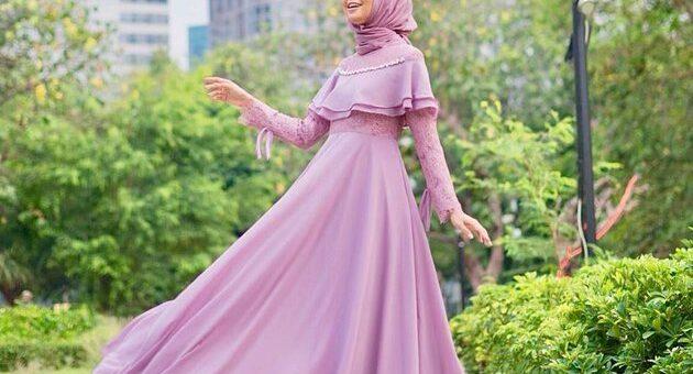 Hijab Nuansa Warna Lilac yang di Gemari Banyak Hijabers